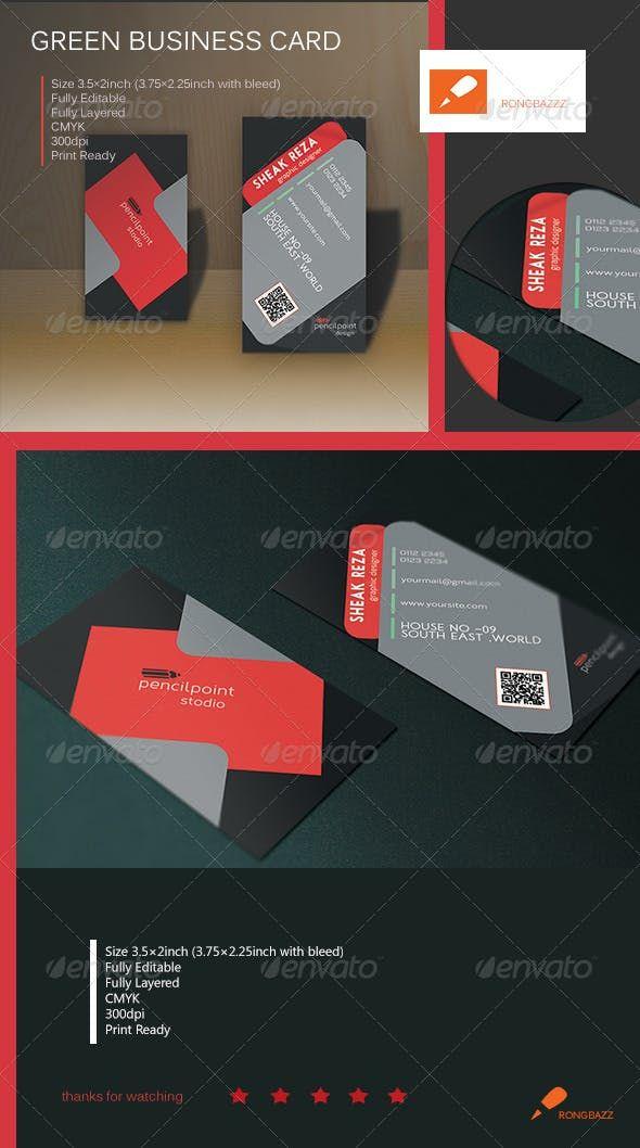 Creative Vertical Business Card 1 0 Photoshop Psd Dark Cool