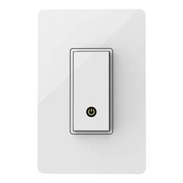 The Wi-Fi® enabled WeMo Light Switch allows you to turn lights on and off from anywhere--from across the house, from the backyard, or from the other side of the world. WeMo Light Switch replaces a standard light switch in your home and can be controlled remotely with an Android smartphone or tablet, iPhone, iPad, or iPod touch.