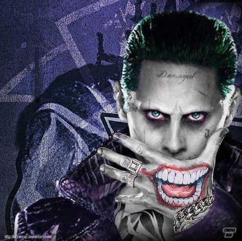 Joker Smile Hand by Bryanzap