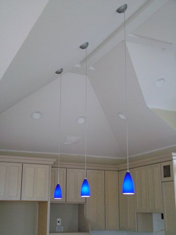 Blue Pendant Lights. #Pendantlight #Lighting Http://www.shelights.