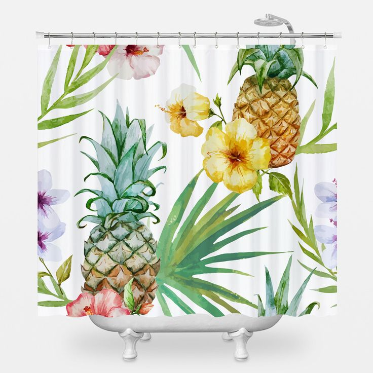 "With endless design options, the WNL Shower Curtain pulls double duty. It's practical, yet stylish and brings a bit of ""je ne sais quoi"" to your bathroom. We wouldn't be surprised if it became your ne"