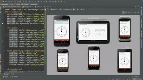 Google lanzó Android Studio, un nuevo entorno de programacion