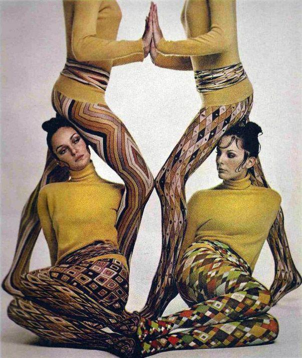 Emilio Pucci hosiery repinned by wwww.lecastingparisien.com