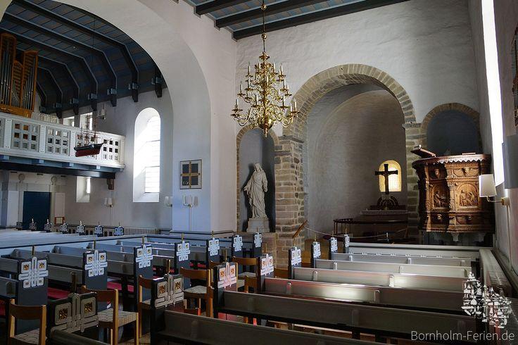 Innenraum der Sankt Bodils Kirche, Bornholm #bodilsker #bodilskirke #bodilskirche #kirche #kirke #bornholm #daenemark #innenraum