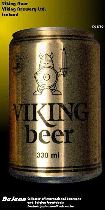 Viking beer , Iceland