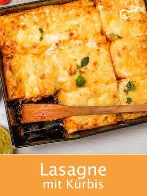 Dieses vegetarische Rezept für Lasagne mit Kürbis ist ein wahrer, gesunder Genuss …   – Rezepte