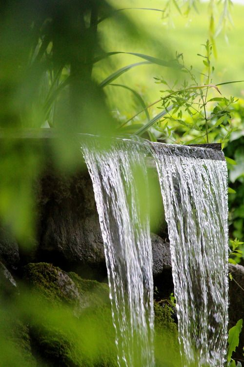 280 best water features images on pinterest for Zen garden waterfall