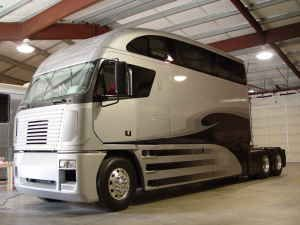 super cab!  My husband used to be an over the road trucker. I think he'd love to have had one like this. lol