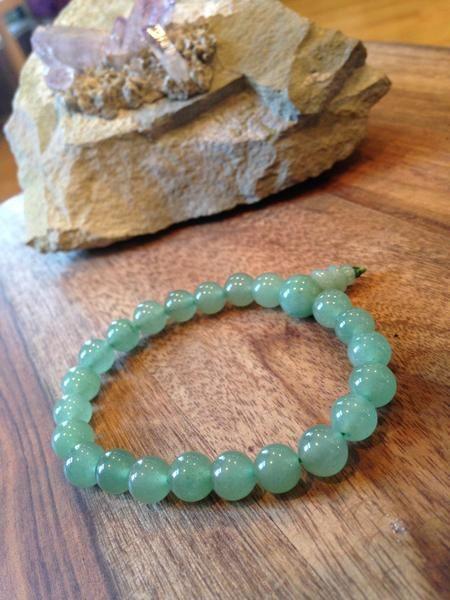 Aventurine Power Bracelet  #aventurine #crystal #jewelry #bracelet #boho…