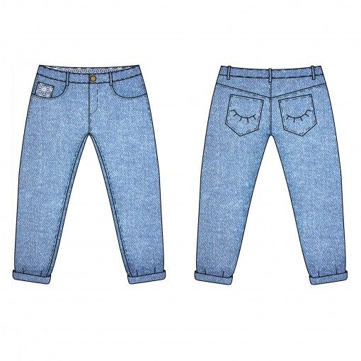 Pop-corn le jeans boyfriend