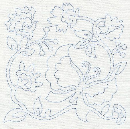 Crazy Quilt Embroidery By Machine Jacobean Embroidery