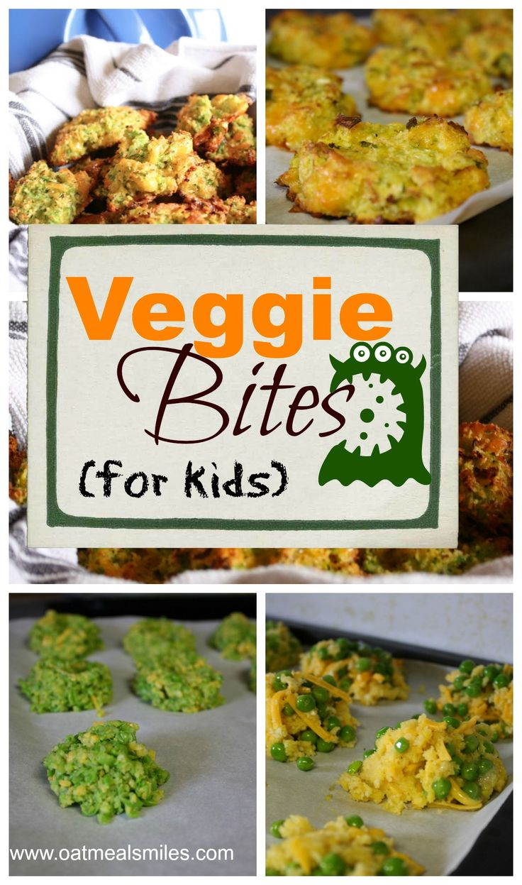 Getting your kids to eat their veggies can feel like a monumental task. These veggie bites are easy, tasty and freeze well. Kids love them!