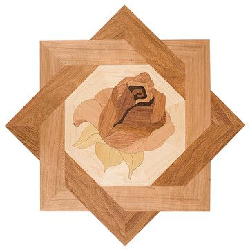 24 best wood inlay design images on pinterest marquetry for Inlaid wood floor designs