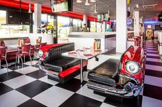 1957 Chevy booth