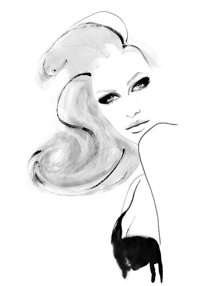 Fashion Illustrations by Kornelia Dębosz