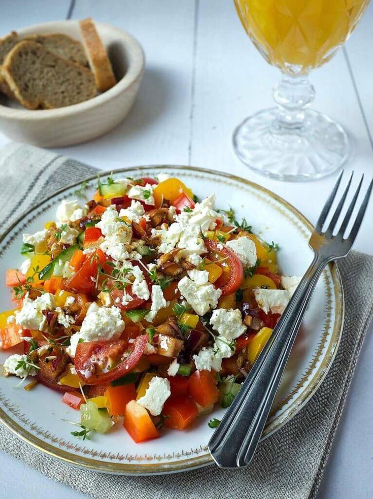 Delicious Paprika Salad – Schnelle und leckere Rezepte, die Sie glücklich machen …   – Rezepte