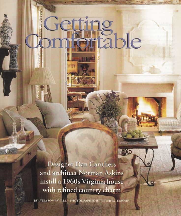 Dan Carithers Architect Norman Askins 1960 Virginia Country House Southern Accents Jan