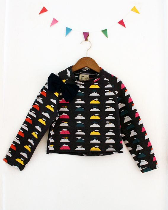 POPPY MOUNTAIN SWEATER by Les Petits Vagabonds