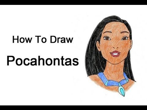 How To Draw The Real Pocahontas