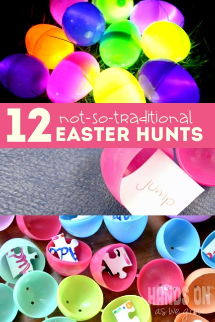 12 Easter Scavenger Hunt Ideas That are Not-So-Traditional