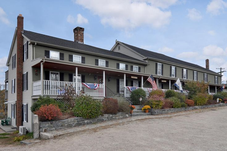 Rhode Island Inn for Sale with views of the Wood River