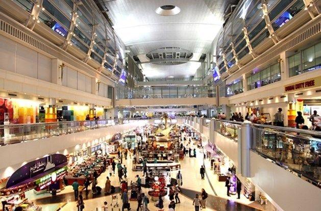 6. De Internationale luchthaven van Dubai, Verenigde Arabische Emiraten <br> Aantal: iets meer dan 70 miljoen reizigers in 2014.