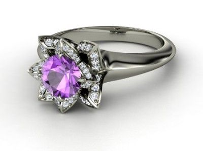 round-amethyst-platinum-ring-with-diamond.jpg 400×298 pixels
