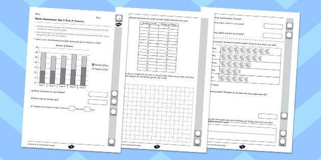 Year 4 Maths Assessment: Statistics Term 3