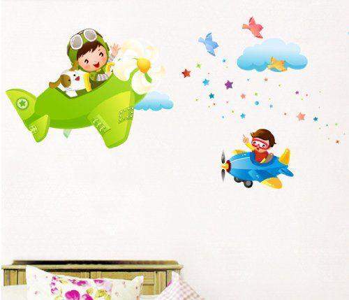 ... Murali, Camera Dei Bambini Vivai Adesivi da Parete Removibili/Stickers
