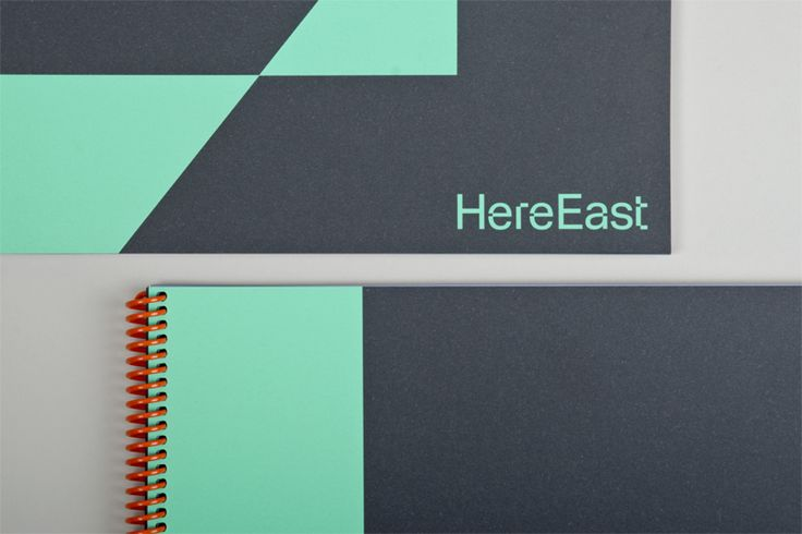 Here East brochures. dn&co.