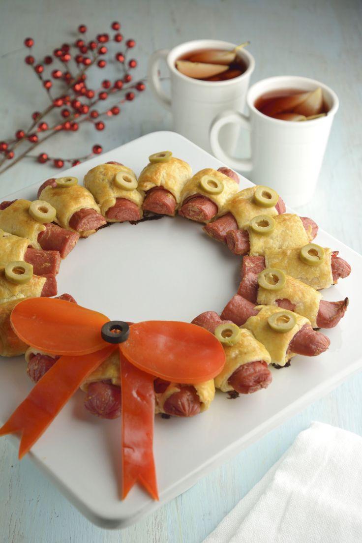 La corona de salchicha y hojaldre es la botana perfecta para cuando recibas invitados en tú casa. Es una receta muy sencilla de cocinar, donde la pasta de hojaldre es el protagonista. Te va a encantar la receta de la corona de salchicha y hojaldre.