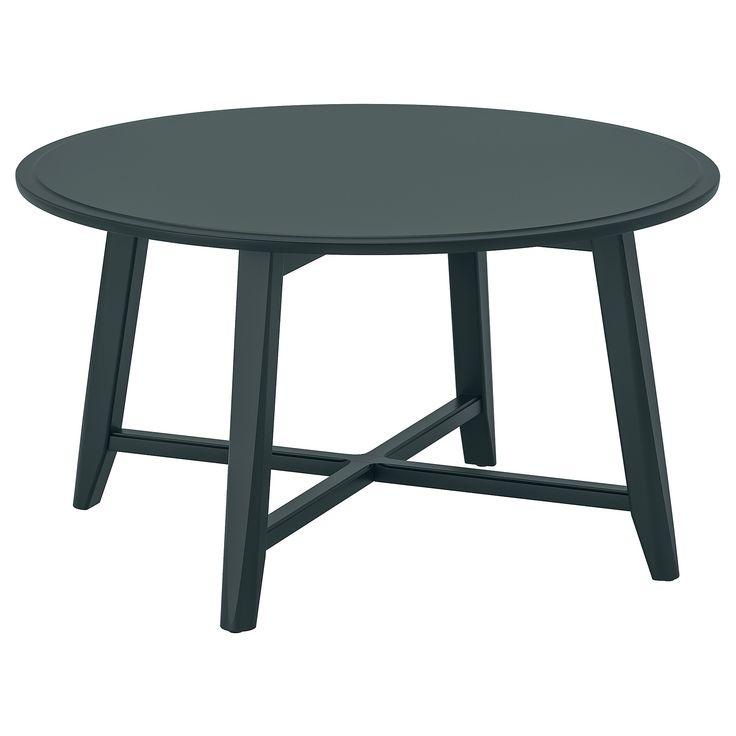 "KRAGSTA Coffee table - dark blue-green 35 3/8 "" | Green ..."