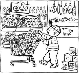 Pietertje Pet - Naar de winkel
