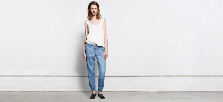 Pajama Jean -- it's like wearing denim sweatpants