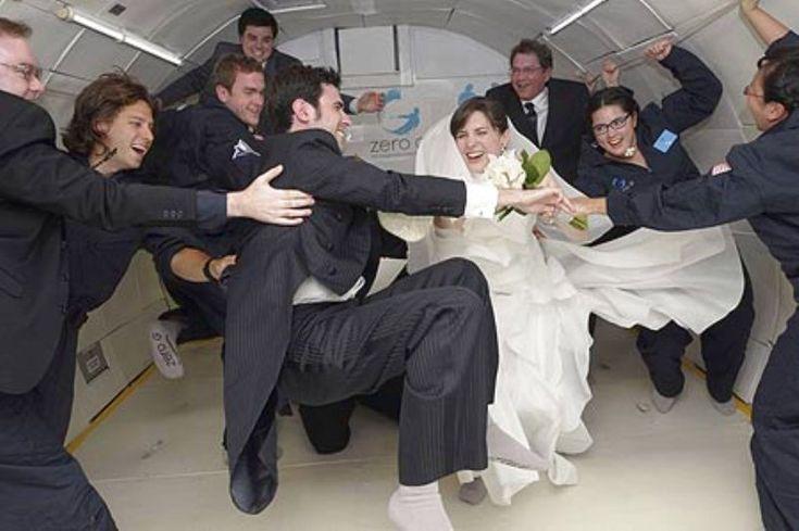 Matrimonio nello spazio a gravità zero!!! The Wedding Italia