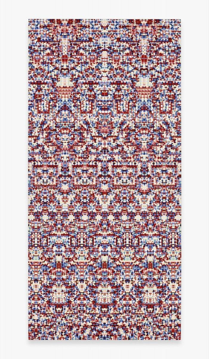 Peter Young   Linear Weave (Vertical Fold) Paintings inspiration