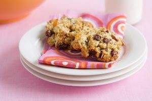 Apricot and sultana biscuits