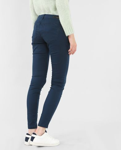 Pantalón slim azul marino