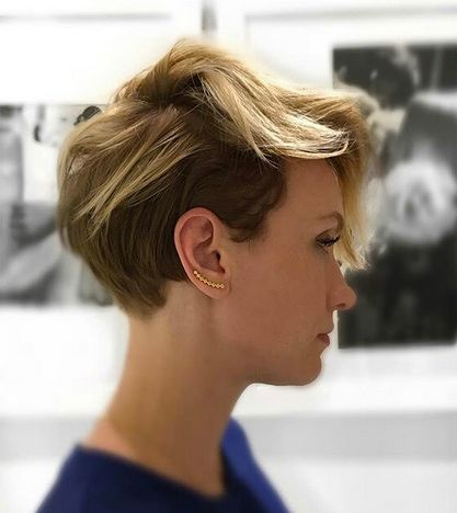 Pixie cut with balayage by Pretty Cut and Dry                                                                                                                                                                                 More