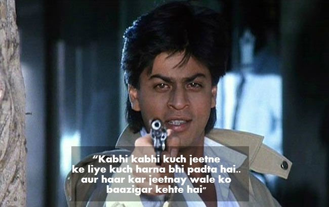 Bollywood and beyond!!!: Top 10 Movie Dialogues of Shah Rukh Khan