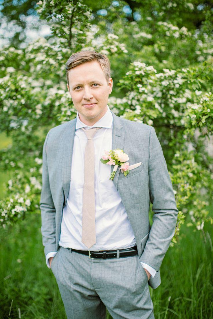 Handsome groom!
