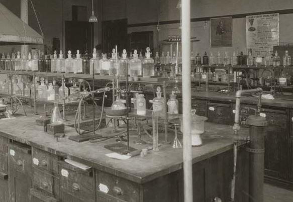 Early 20th century laboratory
