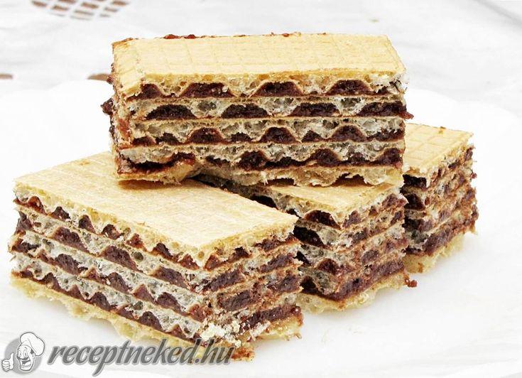 Hozzávalók: 1 csomag (4db. 20x30cm.-es) ostyalap 200 g vaj, vagy margarin 3 ek cukor 6 ek tej 2 ek cukrozatlan kakaópor 2 ek rum, vagy pár csepp aroma 120