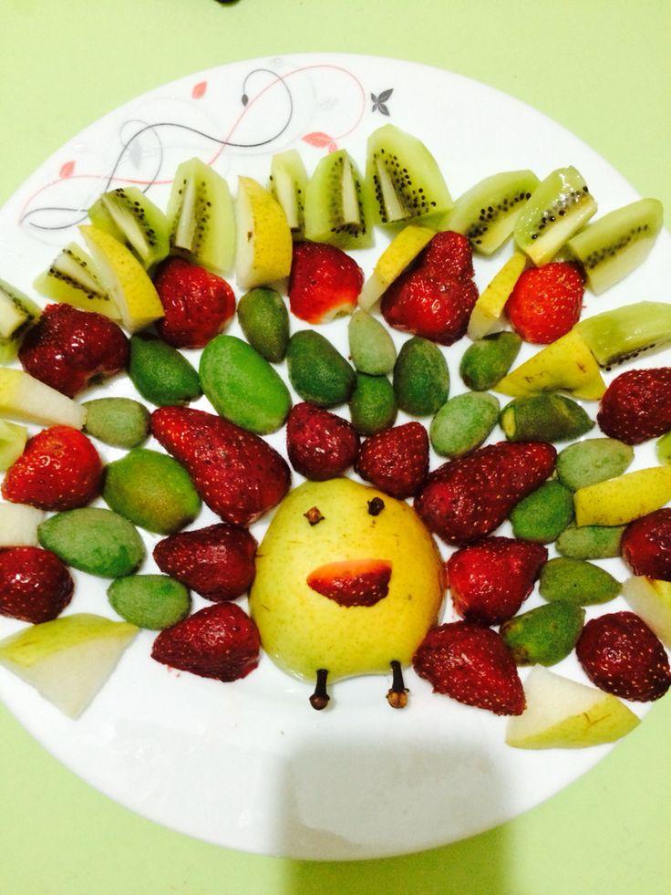 Meyve tabağı süslemelik