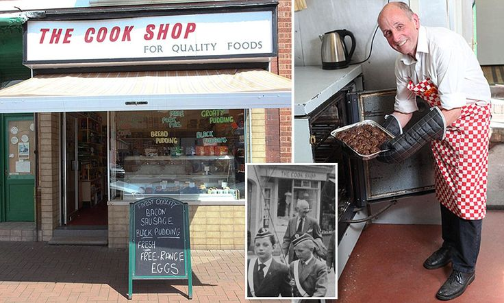 For sale: Traditional food shop run by the same family for 125 years... complete with their secret recipes for faggots and bread pudding