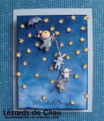 "BIRTH CARD FOR ""PETIT MEC""!"