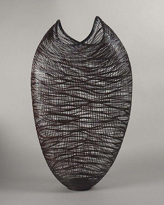 Fall Wind | Morigami Jin  (Japanese, born 1955) | Bamboo (madake) and rattan