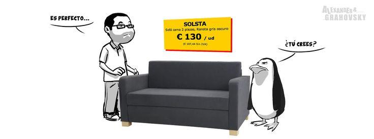 """Alexander & Grahovsky """"The Sofa""""    http://alexandergrahovsky.com/tagged/ayg"""
