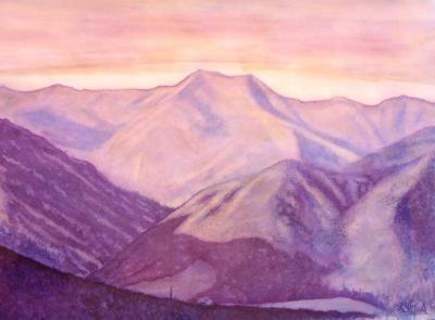paesaggio ad acquerello - Alessio Atzeni