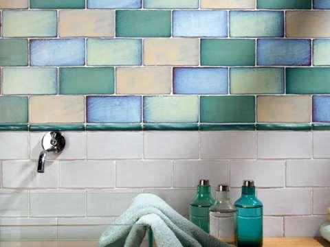 Antique Mixed Metro Tiles